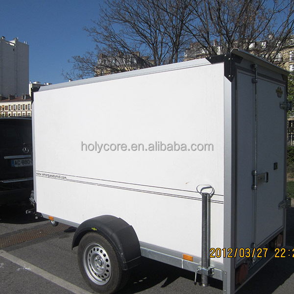 Small Fiberglass Utility Trailers Body Made Of Composite Material Holypan Buy Utility Trailer