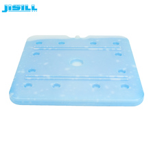 High quality large reusable eutectic freezer ice plate for ice cream cart