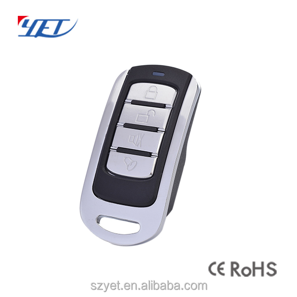 Multi frequency copy remote control transmitter YET074 for gate/barrier