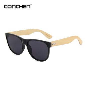 e576eeb51e Custom Glasses Brand Your Logo Sunglasses Bamboo Temple - Buy ...