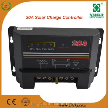 Instruction to PWM solar charge controller 20a Factory Price