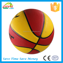 Wholesale Mini Pu PVC Leather Train Basketball, Custom Logo Size 7,6,5,3,2,1 Bulk Printed Basketball Ball