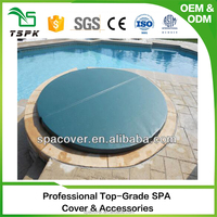 Popular high density preformance PVC lam in ground spa covers