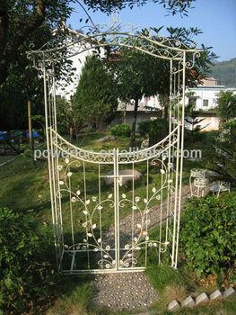 Wedding Garden Gate Metal Wedding Flower Arch