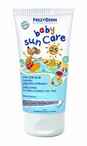 FrezyDerm Baby Sunscreen Cream - Face & Body SPF25 by FrezyDerm