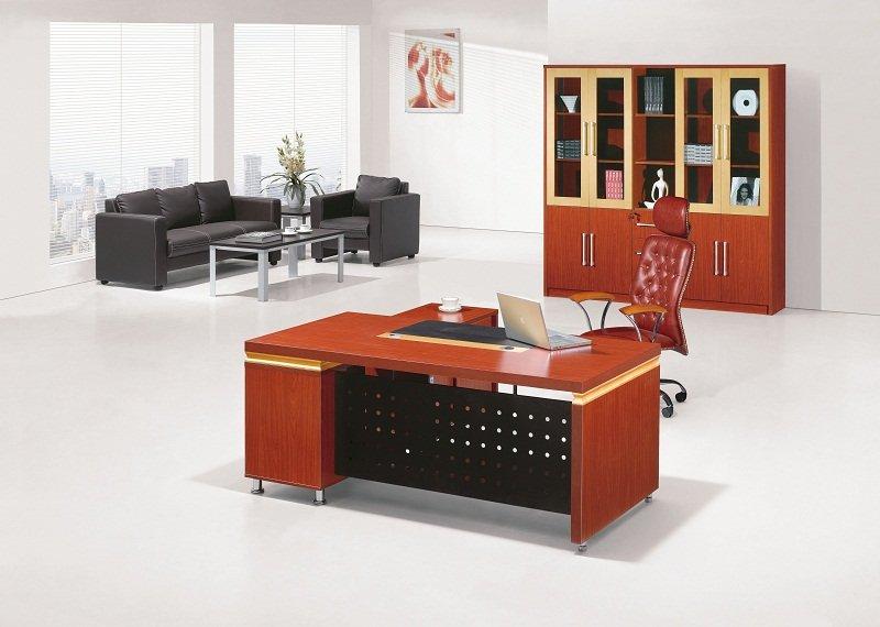 escritorios ejecutivos de madera con estilo para el