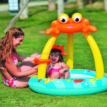 Crab Canopy Toddler Pool Inflatable