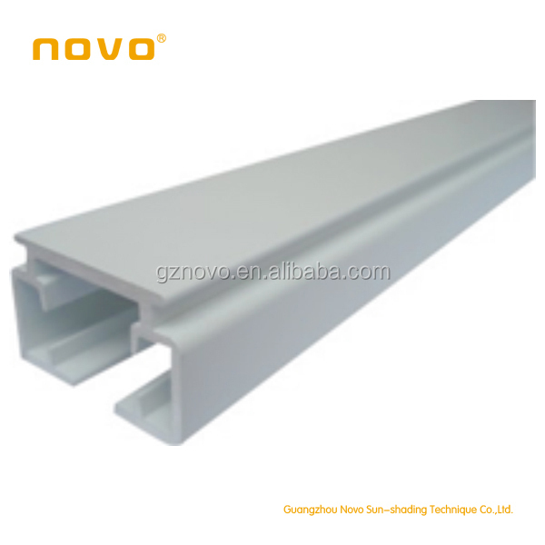 NOVO Motorized Sliding Curtain Track / Curtain Accessory And Electric  Curtain C Pattern For Curtain Motor