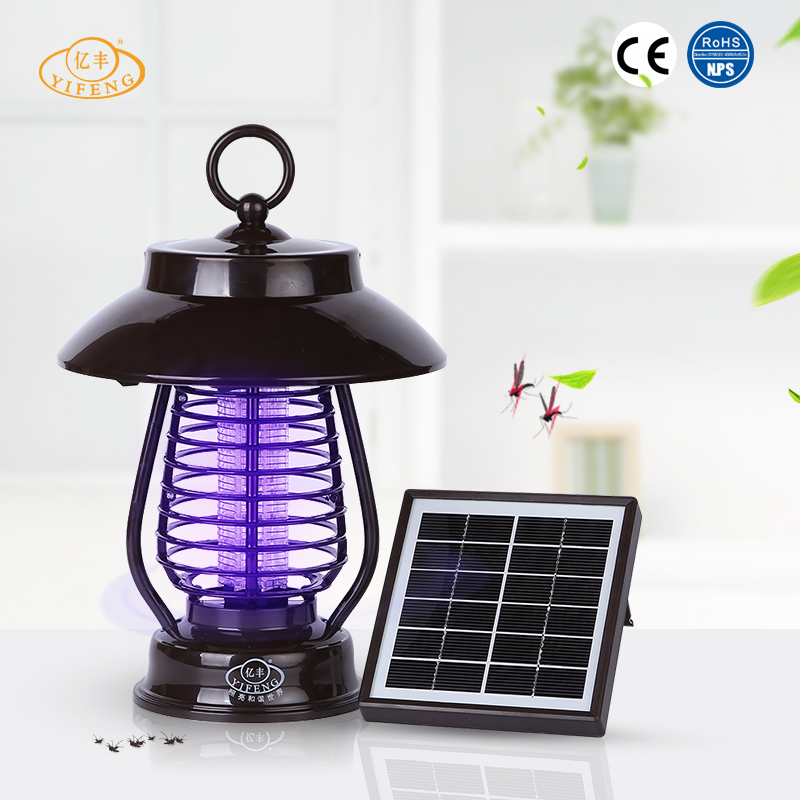 YiFeng YF-159 Saving Energy Eco-Friendly Multifunctional Solar Power Electronic Led Mosquito Lamp