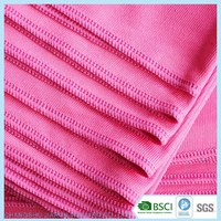 2017 BSCI factory top sale personalized window cleaning cloths microfiber glass cleaning cloth for glass cleaning