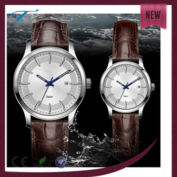 f9590d8fcdcd Luxury japan mov t stainless steel case cover watch metal couple watch