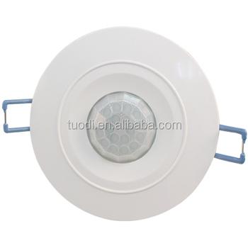 Three knobs black ceiling pir motion sensor light switch buy photo three knobs black ceiling pir motion sensor light switch aloadofball Choice Image