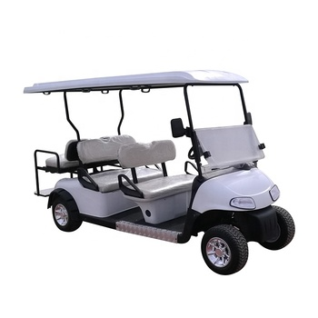 safe practical environmental 4 seater cheap gas power golf cart with CE certificate