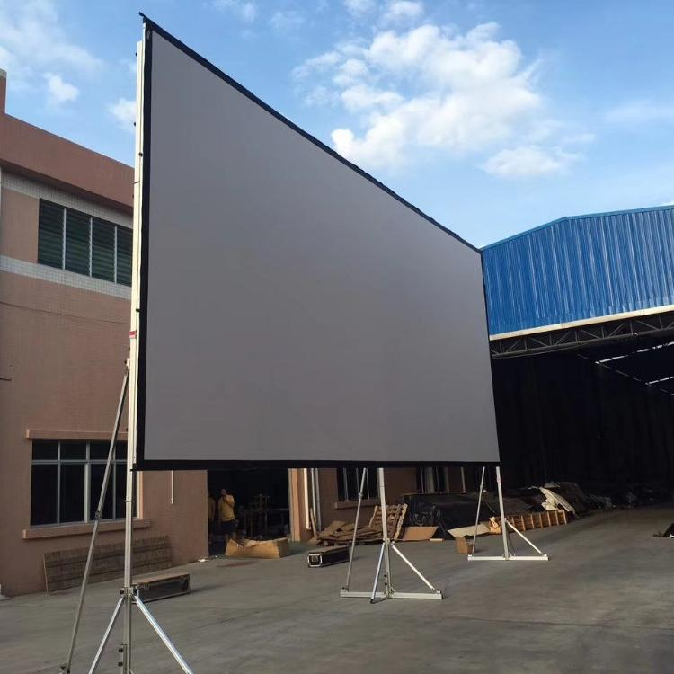 400 inch projection <strong>screen</strong> fast fold <strong>portable</strong> style daylight projector <strong>screen</strong> for stage <strong>screen</strong>