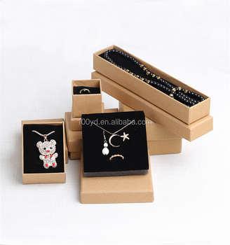 Offset Prinitng Recycled Kraft Paper Jewelry Boxes Buy Jewelry Box