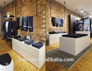 Moda moderna tienda de ropa de dise o de interiores para for Disenos de tiendas de ropa modernas