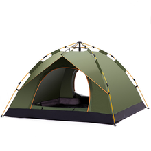High Quality New Product Cheap Beautiful Outdoor Camping Tent Family