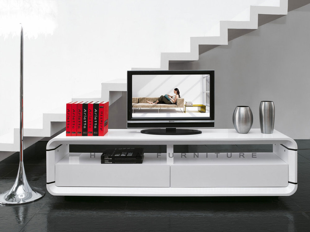 modern tv unit glossy white tv cabinets latest designs