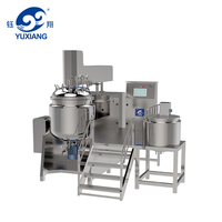 RHJ-A 500L vacuum emulsifying for Body Moisturizer Emulsification Mixer