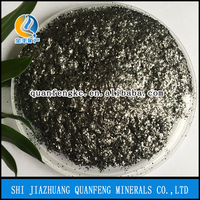 Expandable graphite with high expansion rate