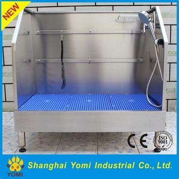2016 Best Sale Stainless Steel Grooming Bath Tub For Dog