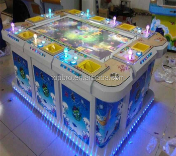 Ocean hunting game machine arcade shooting fish table for Arcade fish shooting games