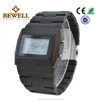 mens wooden wrist watch digital wood watch Chocolate Wood Watch Review