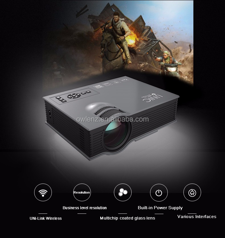 Unic uc46 cheap mini projector 2016 best prices wholesale for Handheld projector best buy