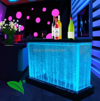 Night Club Portable Led Modern Bar Counter Aquarium Fish Tank ...