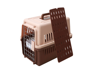 Pet dog airway box, durable cheap pet flight cage,air carrier