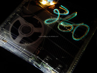 New Xcm Crystal Clear Case Dvd Cover With X-light Kit For Xbox 360 ...
