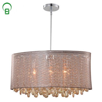 Whole Unique Art Deco Crystal Hotel Chandelier Pendant Lights For House Chandeliers Round Light Modern