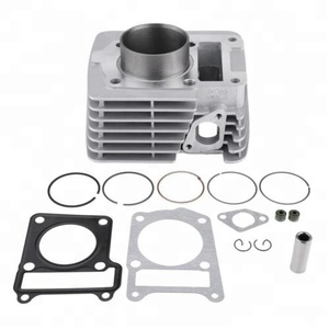 54mm Bore YBR125 Cylinder Kit for motorcycle engine parts with Cylinder Block Piston Rings Gasket Kit