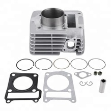 YBR125 Motorcycle Cylinder Kit for motorcycle engine parts with Engine Cylinder Piston Rings Gasket 54mm Bore Spark Plug Kit