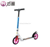Fast mobility child scooter with lightweight