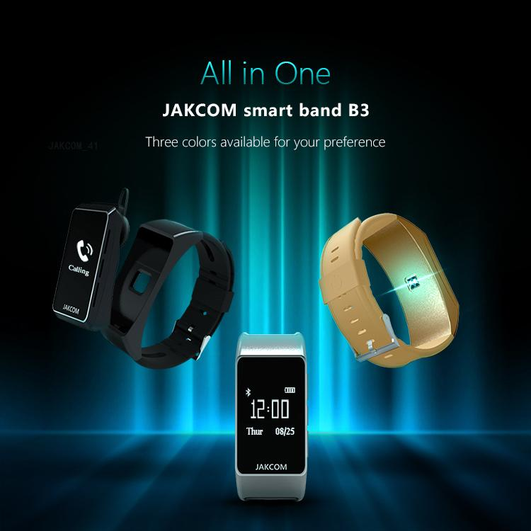 JAKCOM B3 Smart Watch 2019 New Premium Of smartwatch wholesale wristwatches android smart watch mobile watch