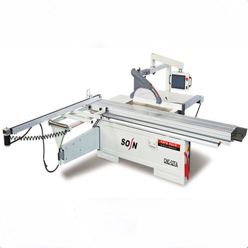 Sosn Brand Cnc Wood Cutting Sliding Table Saw Machine With Control Panel