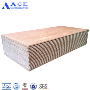 Apitong/Hardwood 19ply 28mm Shipping Container Plywood