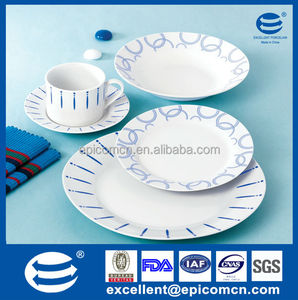 AVON audit high quality 20/30pcs dining ware banquet chinaware dish sets