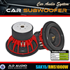 Made in China car subwoofer speaker good in competition with 15 inch red aluminum basket 1000 watts subwoofer