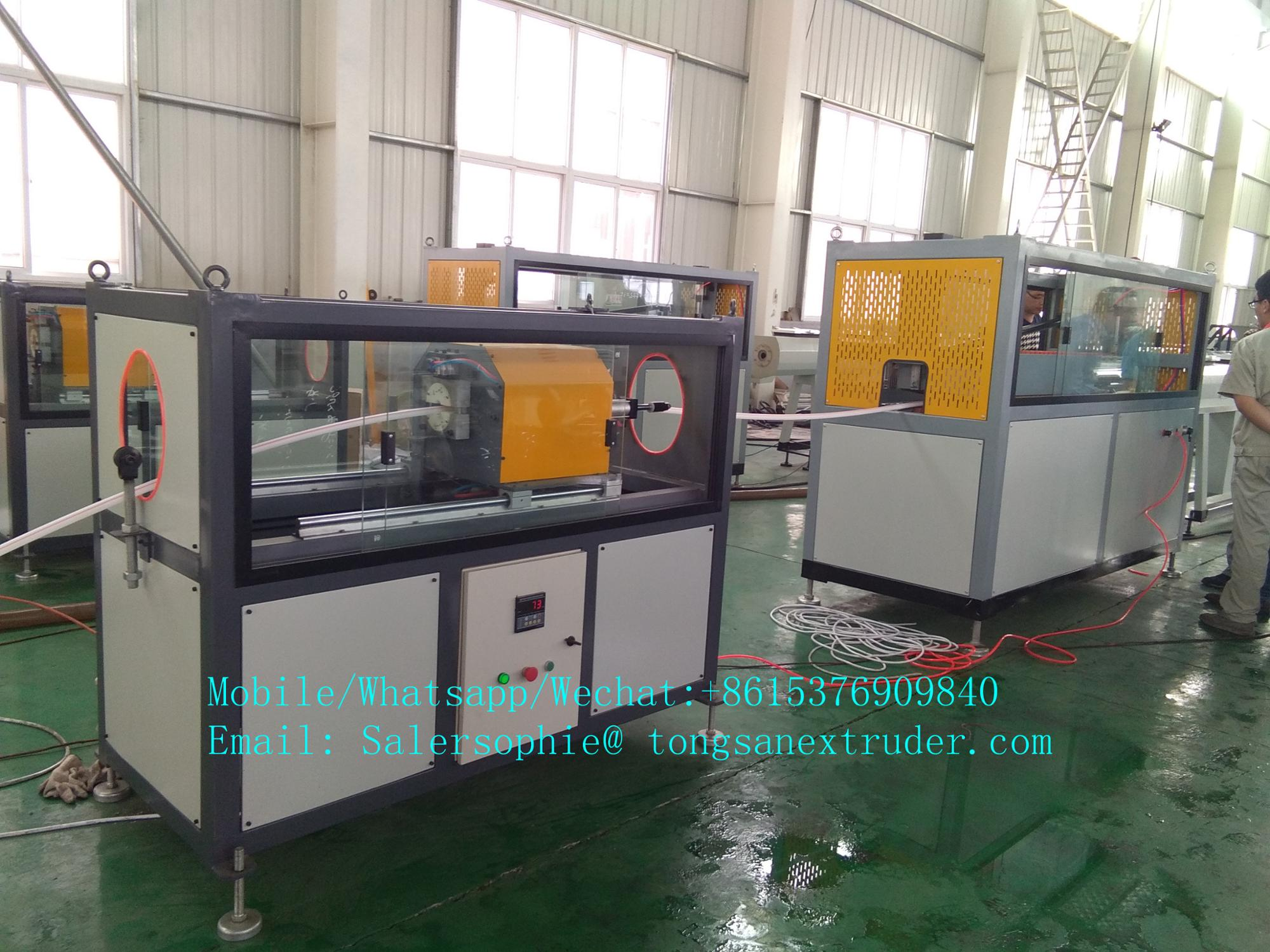 High Quality 20mm-100mm PPR/PP/PE Compound Pipe making machine Extrusion Line manufacture  price
