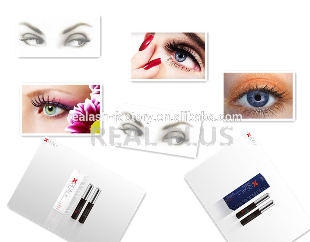 REAL PLUS create your global market opportunities eyelash extension/ enhancer serum