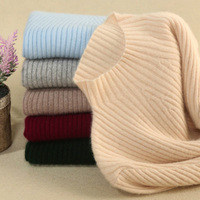 New Fashion Autumn Winter Women Slim Knitted Sweaters Tops Wool Outwear plus size pull pullovers striped Top Quality Sweater