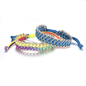 popular states bracelet design detail europe handwoven women product shoelace united new the colorful and