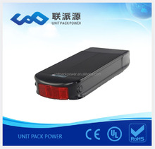Powerful 15ah 48v lifepo4 battery pack for bicycle replacement lithium battery with 2A charger+BMS