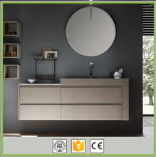 Chinese modern bathroom mirror cabinet bathroom vanity