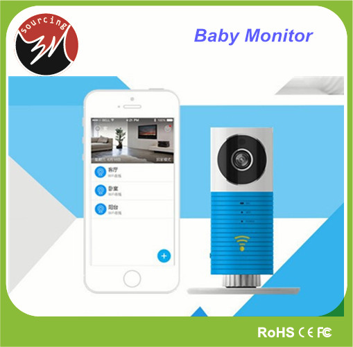 Night Vision Internal Mic Speaker P2P Smart IP CCTV Camera Wireless Baby Monitor Video with Apps Support IOS Android System