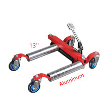 "1500lbs 13"" Aluminum Go Jack Car Dollies, Hydraulic moving Dolly, Position Jack"