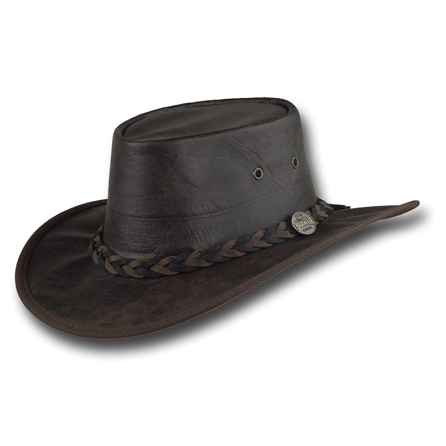 25e016091219f Wholesale Cowboy Hats Suede PU Leather Assorted Western Hats (Pack of 24).  Get Quotations · Barmah Hats Vintage Kangaroo Leather Hat - Item 1018