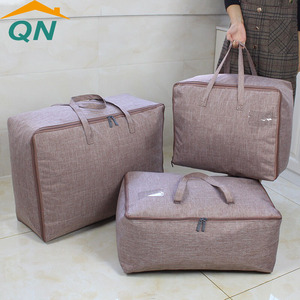 High quality bedding storage bag sweater storage bag organizer portable travel bag
